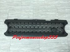 Front Grille Supercharged Model For Land Rover Range Rover L322 '06-'09 BLACK