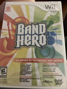 Band Hero GAME ONLY (Nintendo Wii, 2009) BRAND NEW, SEALED!