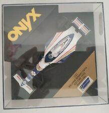 1/43 WILLIAMS RENAULT FW16 TEST CAR HILL FORMULA 1 F1 ONYX ESCALA SCALE DIECAST
