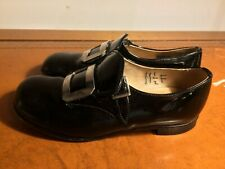 Black Patent Leather Shoes Children's Girls Start-Rite Made in UK - UK11.5F