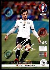 Panini Euro 2016 Adrenalyn XL Mats Hummels Deutschland Signature No. 80