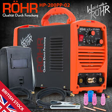 TIG ARC Welder Inverter MOSFET MMA 240V / 200 amp / DC Portable Machine - ROHR