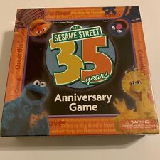 Sesame Street 35 Years Anniversary Game - 2004 Trivia Cards Board Game