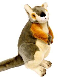 """Rock Wallaby with joey soft plush stuffed toy Wattle 12""""/30cm Bocchetta NEW"""