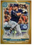 Kevin Kiermaier 2020 Topps Gypsy Queen 5x7 Gold #176 /10 Rays