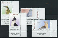 Namibia 2019 MNH Cuckoos African Jacobin Diderick Cuckoo 4v Set Birds Stamps