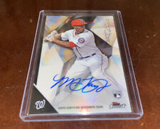 Michael A. Taylor 2015 Topps Finest Rookie Auto!