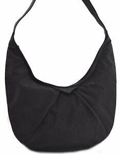 Authentic YVES SAINT LAURENT Shoulder Cross Body Bag PVC Leather Black B8560
