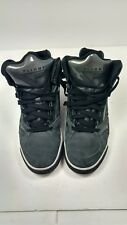Nike Flight High Top Sneakers Black and Gray Size 8