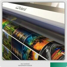 Large Order Custom Sticker Printing Vinyl Contour Cut Any Shape Business Labels