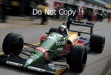 Alessandro Nannini Benetton B188 San Marino Grand Prix 1988 Photograph