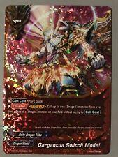 FUTURE CARD BUDDYFIGHT GARGANTUA SWITCH MODE! (DEITY DRAGON TRIBE) S-BT01 RR
