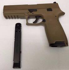 SIG Sauer P320 CO2 Pistol Metal Slide Coyote Tan  .177 CAL