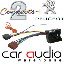Connects2 CT20PE02 Peugeot 207 04> Car Stereo Radio ISO Harness Adaptor Wiring