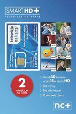 TELEWIZJA NA KARTE NC+ Smart HD 2 MIESIĄCE OGLĄDANIA FREE CYFROWY POLSAT KAMSAT