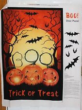 Halloween Boo Scene Door Panel by Springs Creative btp PRICE REDUCED