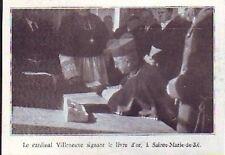 1935  --  CARDINAL VILLENEUVE  SAINTE MARIE DE RE  R464