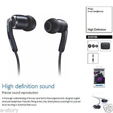 Genuine Philips SHE9700/98 High Definition Sound InEar Headphones 3.5mm Gold