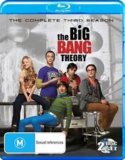 The Big Bang Theory : Season 3 (Blu-ray, 2011, 2-Disc Set)
