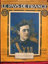 LE PAYS de FRANCE n° 104 - Octobre 1916 - L'Aviateur GUYNEMER - LE MATIN