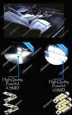 BMW 5 SERIES E60 E61 INTERIOR CAR LED LIGHT KIT - XENON WHITE set of 12 bulbs