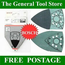 BOSCH PDA BACKING PAD FOR LOUVRE SANDING. VELCRO FIXING. REPLACEMENT BACK PAD