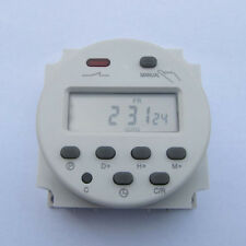 AC 220V-240V 16A LCD Digital Programmable Control Power Timer Switch Time Relay