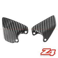 Ducati 748 916 996 998 FRONT Clutch Brake Rearset Heel Guard Plate Carbon Fiber