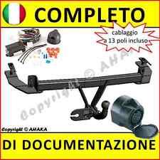Gancio di traino fisso Fiat Panda 2002-2012 + kit elettrico 13-poli rimorchio
