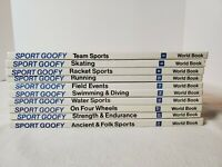 Walt Disney's SPORT GOOFY ENCYCLOPEDIA SET OF 10