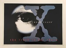 X-FILES,THE TRUTH IS OUT THERE, RARE AUTHENTIC 1996 POSTER