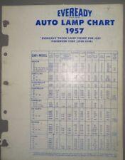 1957 Eveready Auto Lamp Parts Catalog
