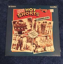 Firesign Theaters - Hot Shorts - 9 Doomed Hits Laserdisc - Rare - 1983 LD