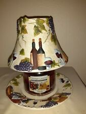 Yankee Candle Shade And Plate Wine Country Vinyard