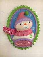 Oh Neve Dolce Figlia Albero di Natale Marchio Ricordo Ornamento Nuovo IN Scatola