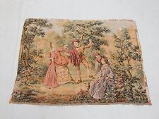 Vintage French Beautiful Scene Tapestry 63x84cm T822