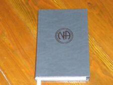 Narcotics Anonymous LIKE NEW NA LIMITED EDITION BASIC TEXT #2177 OF 5000 PRINTED
