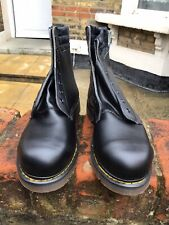 Vintage 80s Dr Martens  WORK Boots STEEL Toe cap , Boxed Size 9 NEW ( imperfect