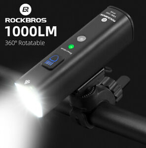 RockBros 2021 High LM Bicycle Light IPX6 Waterproof  Front USB Rechargeable LED