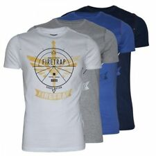 Firetrap Graphic Fitted T-Shirts for Men