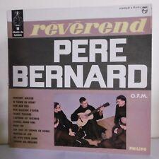 """33T Révérend Père BERNARD Vinyle LP 12"""" LE MENESTREL DU BON DIEU - PHILIPS 77819"""
