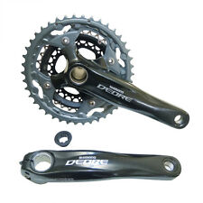 Shimano Deore M590 10-Speed 42x32x24T Triple Chainset 170mm Black
