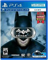 Batman: Arkham VR (Sony PlayStation 4, 2016) NEW
