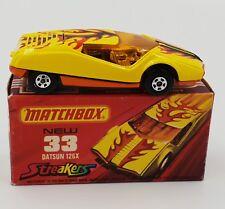 CARS : DATSUN 126X (33) MATCHBOX MODEL MADE IN 1974 (DRMP)