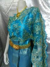 THAI WEDDING DRESS TRADITIONAL BRIDAL THAI PRAYUK RAMTHAI THAILAND HL7