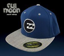New Billabong Scout 210  Mens Blue Flex Fit Cap Hat