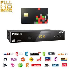 Philips DSR3231T HDTV Sat-receiver für TNTSAT mit Karte