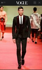 Dolce & Gabbana Men's  Three Piece Suit.Jacket  48 IT, Trousers 46 IT