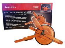 "Heavy Duty 13"" -15"" Steel Wheel Clamp Safety Lock for Car Van caravan Trailer"
