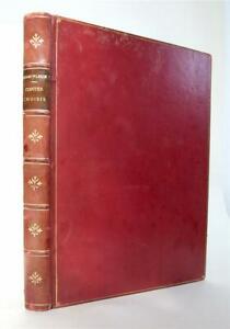 Champfleury Contes Choisis, 1889, Limited Ed. No 33 of 1000 Japon, Van Muyden